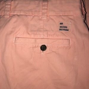 Brooks Brothers 1818 Pink Milano Pants 35x33